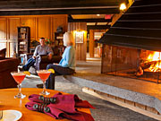 Bugaboo Heli-hiking Lodge - Relaxing environment at the lodge