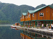 Great Bear Lodge - The Great Bear Lodge is a unique floating wilderness lodge