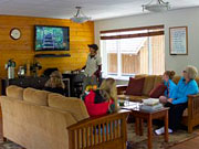 Great Bear Lodge - The common area, used for natural history presentations