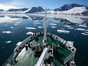 Akademik Ioffe Expedition Ship - Deck of the vessel