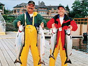 Painter's Lodge Resort - Let the lodge guides take you on a once in a lifetime Pacific salmon fishing expedition