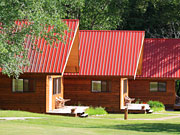 Tweedsmuir Park Lodge - Outside the mountain cabins