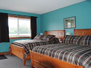 Knight Inlet Lodge - Bedroom