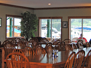 Knight Inlet Lodge - Dining room