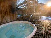 Juniper Hotel & Bistro - Take in the view from the outdoor hot tub