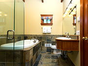 April Point Resort & Spa - Bathroom with tub and shower