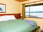 April Point Resort & Spa - Bedroom with Ocean View