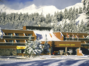 Sawridge Inn - Winter view of the hotel