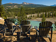 Tekarra Lodge - View of the Athabasca River from the lodge