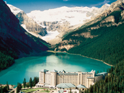 Fairmont Chateau Lake Louise - Spectacular setting near Lake Louise