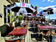 Hotel Place d'Armes - Enjoy dining and drinks al fresco on the terrace