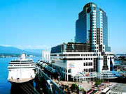 Pan Pacific Vancouver - The Pan Pacific Hotel, uniquely located above the cruise ship terminal.