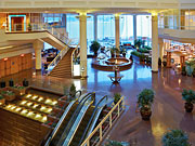 Pan Pacific Vancouver - The lobby.