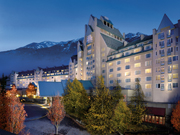 Fairmont Chateau Whistler - Chateau Whistler at Night
