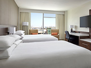 Calgary Airport Marriott In-Terminal Hotel - Standard Room with two Queen Beds