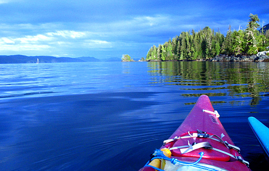 Sea Kayaking in British Columbia, Canada