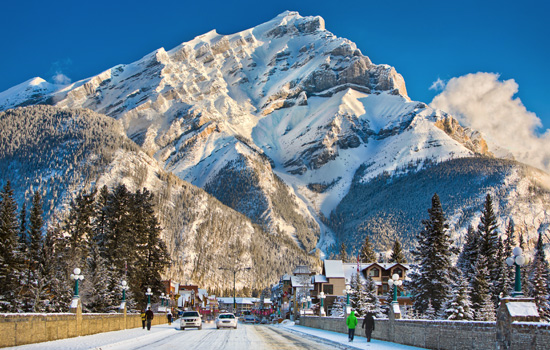 Add a train journey to the Canadian Rockies