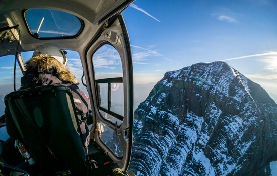Add a Helicopter tour in the Canadian Rockies