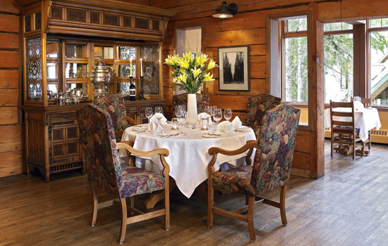 Feature Dinner at Emerald Lake Lodge - Feature Dinner at Emerald Lake Lodge