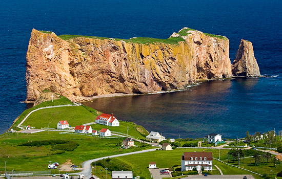 Drive though the Gaspe Region