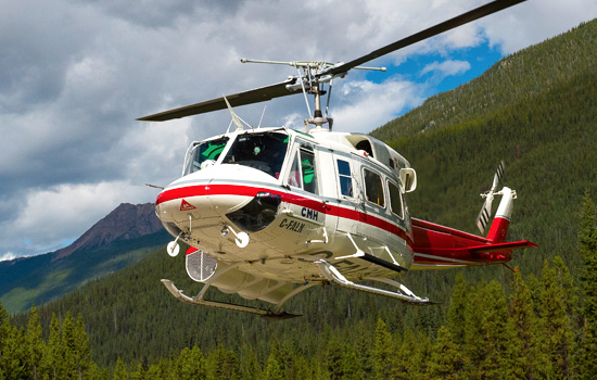 Helicopter transportation for your 3 night heli-hiking adventure - Helicopter transportation for your 3 night heli-hiking adventure