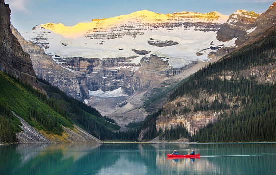 Add a stay at the Fairmont Chateau Lake Louise