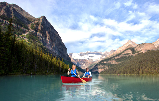 Add a night at the iconic Lake Louise