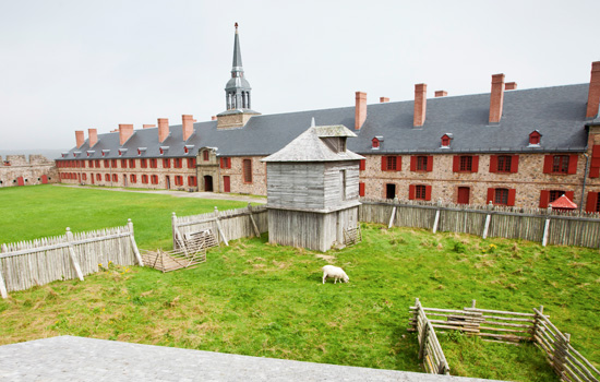 Visit to the Fortress of Louisbourg National Historic Site - Visit to the Fortress of Louisbourg National Historic Site