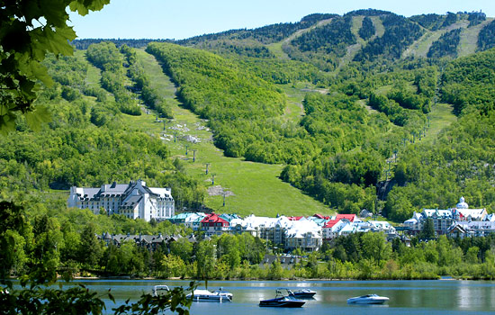 Visiting Mont Tremblant resort town