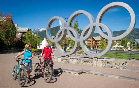 Visit the Olympic city of Whistler
