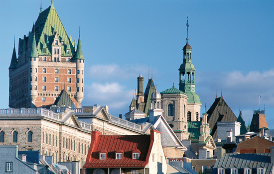 Extend your stay with a visit to Quebec City