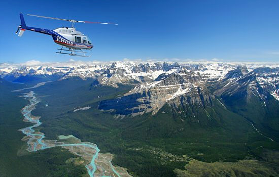 Sightseeing flights or helicopter tours