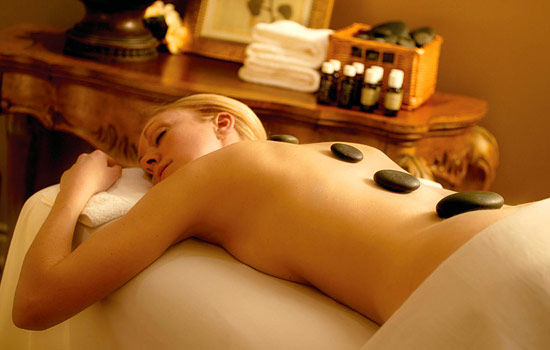 A relaxing spa treatment or massage