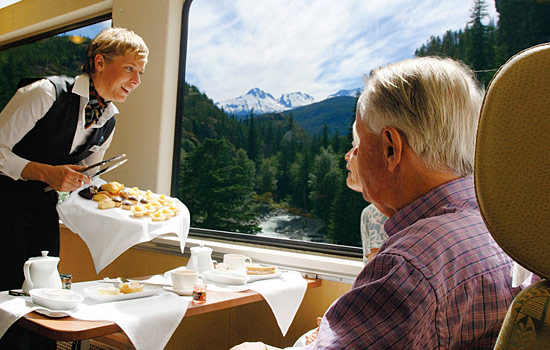 Spectacular Rocky Mountaineer train - Spectacular Rocky Mountaineer train