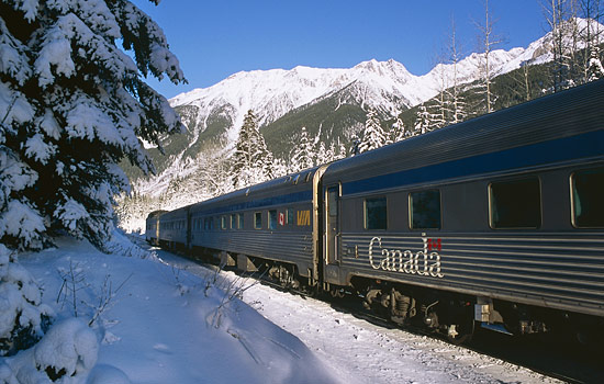 Add a Canadian Snow Train experience.