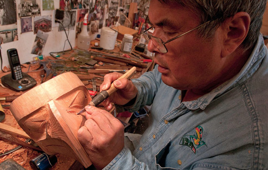 Enjoy studio visits with local Haida artists - Enjoy studio visits with local Haida artists
