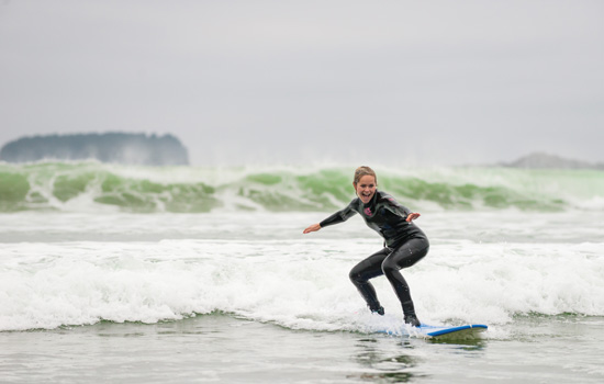 Visit the surf town of Tofino on the west coast