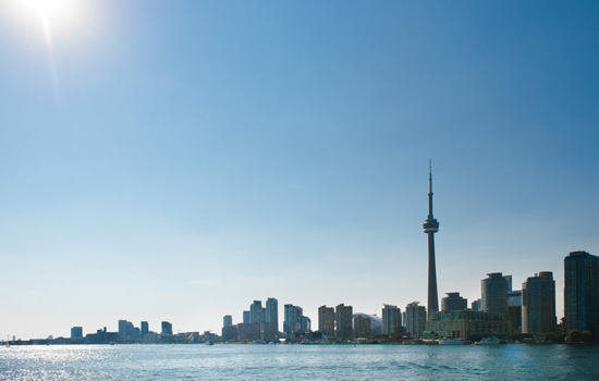 Spend time in the bustling city of Toronto