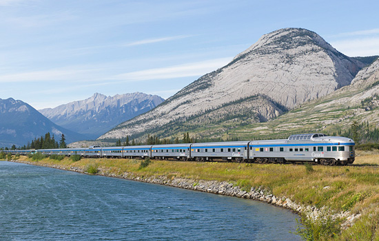 Add a train journey across Canada to Winnipeg