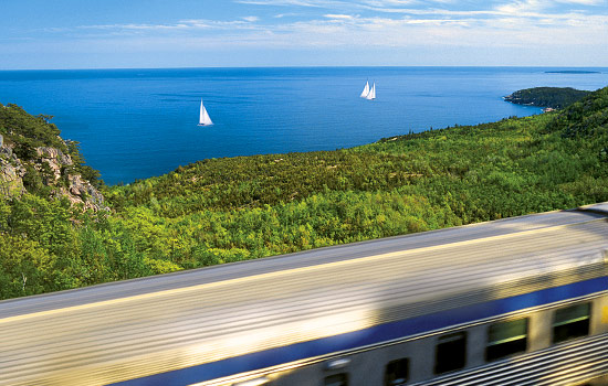 Touring Eastern Canada by train