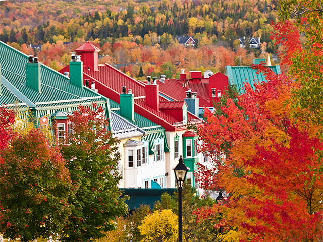 Book a 2018 Canadian fall vacation and receive extra credits towards your trip.