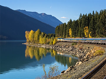 Celebrate Canada's 150th anniversary with the ultimate Canadian train journey