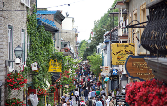 French Canadian culture in Quebec City
