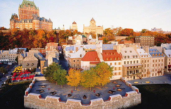 The Fairmont Chateau Frontenac, Quebec City