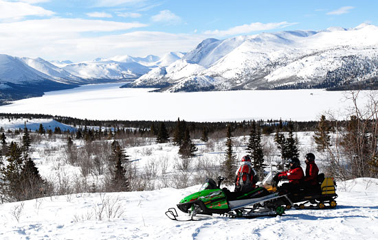 Try a snow mobile adventure – the modern alternative to a dog team