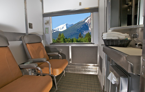 VIA Rail's cabin