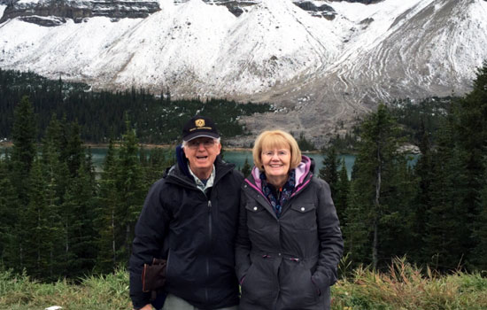 The Rocky mountaineer was fantastic