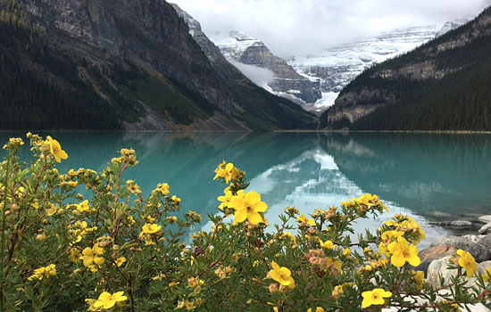 The Rocky Mountaineer was an amazing experience