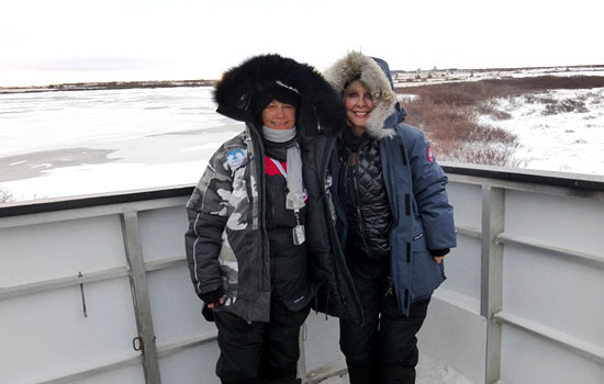 We had the most amazing experience in Churchill