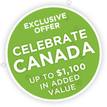 Exclusive Offer – Celebrate Canada